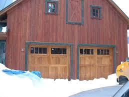 Overhead Barn Doors Sliding Barn Door Appearance Customer Design High Insulation