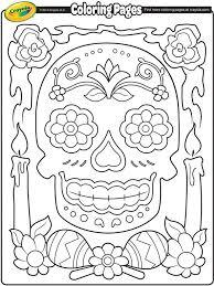 411 skull coloring images sugar skulls