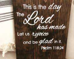 Home Decor Wooden Signs Scripture Wood Sign Etsy