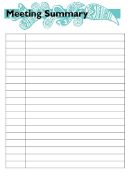 meeting list template template billybullock us