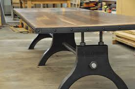 5 foot conference table hure conference table vintage industrial furniture