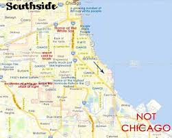 chicago map this map of chicago will offend pretty much everyone curbed chicago