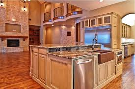 kitchen island oak kitchen island with sink and dishwasher solid light oak wood counter