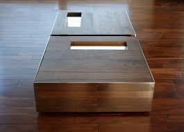shadow box coffee tables luxury of square table with wood crate