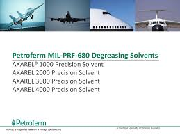 petroferm mil prf 680 degreasing solvents