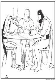 space ghost coloring pages 01