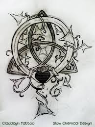 tattoos celtic designs celtic tattoo designs and meanings claddagh and ivy tattoo by