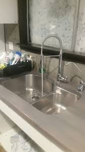 Undermount Sink In Butcher Block Countertop by Sinks Done Undermount Stainless Steel Sink Grey Stained Butcher