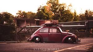 old rusty volkswagen brent favreau u0027s 1961 red over red ragtop volkswagen beetle