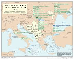 Balkans Map Western Balkans Global Peace Operations Review