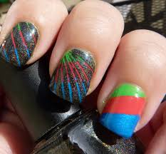 easy at home nail art 19 striping tape nail art for beginners