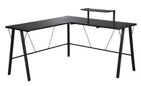 Z Line Belaire Glass L Shaped Computer Desk Desks Z Line Desk Assembly Instructions Soreã O Ikea Desk No