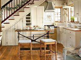 cottage kitchen cabinet hardware white cushions seats cottage