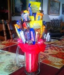 gift mugs with candy 47 best candy bouquets images on candy bouquet gifts