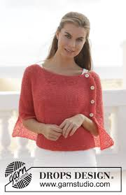 drops design poncho date drops 154 4 free knitting patterns by drops design