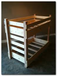 Crib Size Toddler Bunk Beds Crib Bunk Bed White Bed