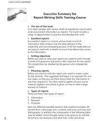 mapsingen executive summary examples