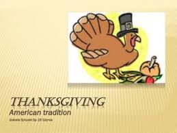 ppt why do americans celebrate thanksgiving day on the fourth