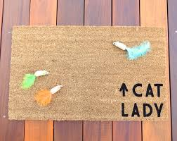 funny doormat flooring u0026 rugs cat lady funny doormats in beige for floor