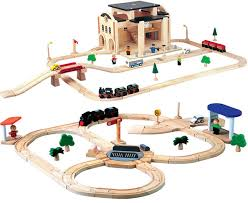Plans For Wooden Toy Trains by Plan Toys Train Sets
