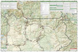National Geographic Topo Maps Natuurgids Adventure Set Yellowstone National Park National