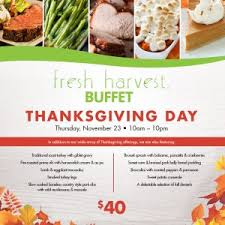restaurants open on thanksgiving day in ta