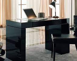 White Desk Glass Top Desk Glass And Metal Computer Desk Rightful Mission Style
