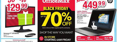 home depot scanned black friday office depot u0026 office max black friday deals 2016 full ad scan
