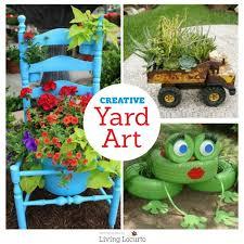 Diy Garden Crafts - diy yard art and garden ideas homemade outdoor crafts