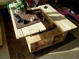 fabriquer un bureau avec des palettes custom fabriquer table basse avec palette id es bureau domicile