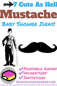mustache invitations mustache themed baby shower