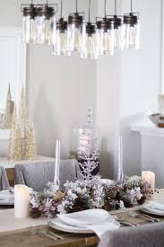 Christmas Table Decor by Christmas Table Decorations Rustic Christmas Decor