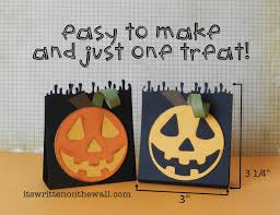 halloween candy favors it u0027s written on the wall part 4 halloween party favors the