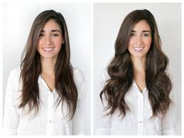 clip in hair extensions before and after how to do your own clip in extensions martha kale