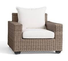 outdoor wicker chairs pottery barn