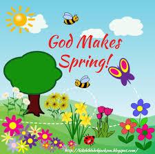 bible fun for kids god makes spring for preschool kids