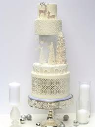 sketch to cake shani christenson white christmas wedding cake