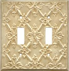 Baroque Home Decor by Decorative Switch Wall Plates Baroque White Switchplates Outlet