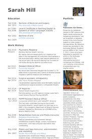 Medical Resume Examples by Medical Resume Samples Visualcv Resume Samples Database