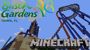 Busch Gardens Map Busch Gardens Minecraft Server Youtube