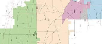 Galena Illinois Map by Boundaries Kaneland