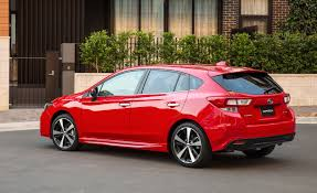 2016 subaru impreza hatchback red 2017 subaru impreza review caradvice