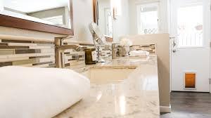 elegant and fresh master bathroom in escondido kaminskiy design