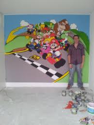 mario kart wall painting by remco schakelaar on deviantart mario kart wall painting by remco schakelaar