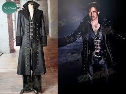 Captain Hook Halloween Costume Tv Series Cosplay Captain Hook Costume C00476 01