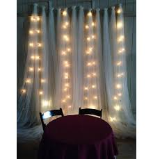 Tulle Wedding Decorations Wedding Magic With Twinkle Lights Mon Cheri Bridals