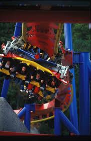 X Flight At Six Flags Superman Ultimate Flight Six Flags Great America