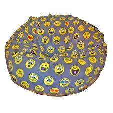 ahh products emojis bean bag chair u0026 reviews wayfair