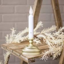 christmas window candle lights christmas lights decoration