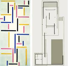 Pavilion Floor Plans by Theo Van Doesburg